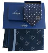Corbata corporativa con caja regalo